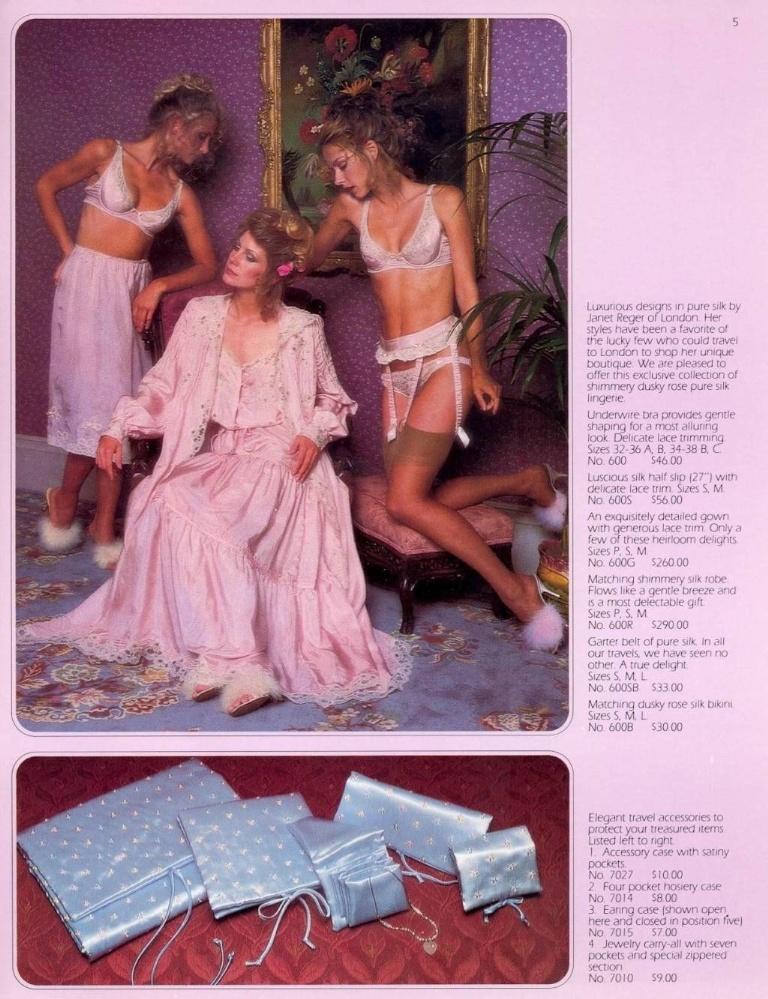 Catalog Victoria's Secret.