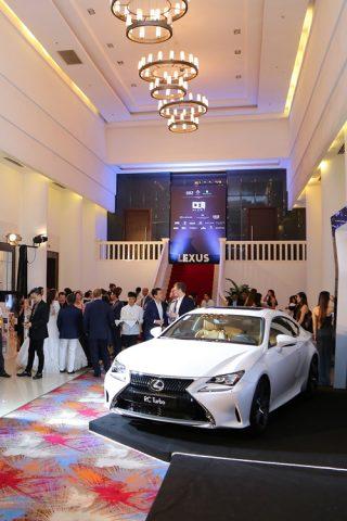 Lexus đồng hành cùng dạ tiệc CEO Night lần thứ 10