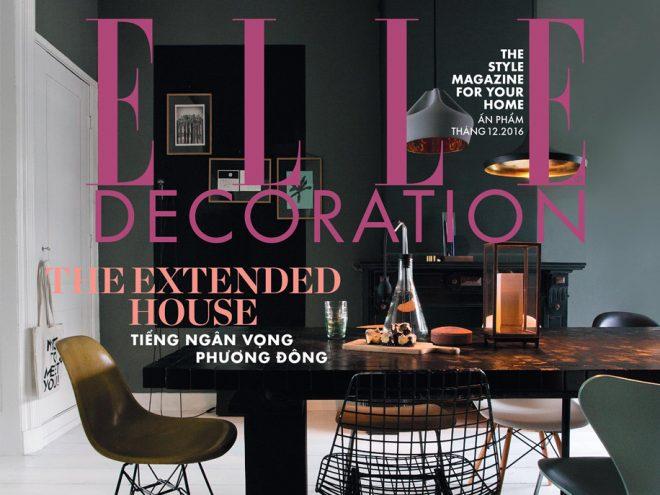 ELLE Decoration 9: Ngôi nhà hôm nay