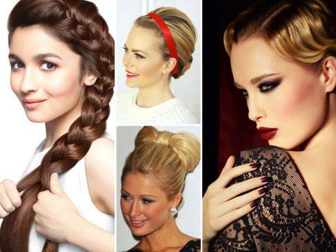 """10 kiểu tóc đẹp """"khuấy động"""" buổi tiệc tùng cuối năm"""