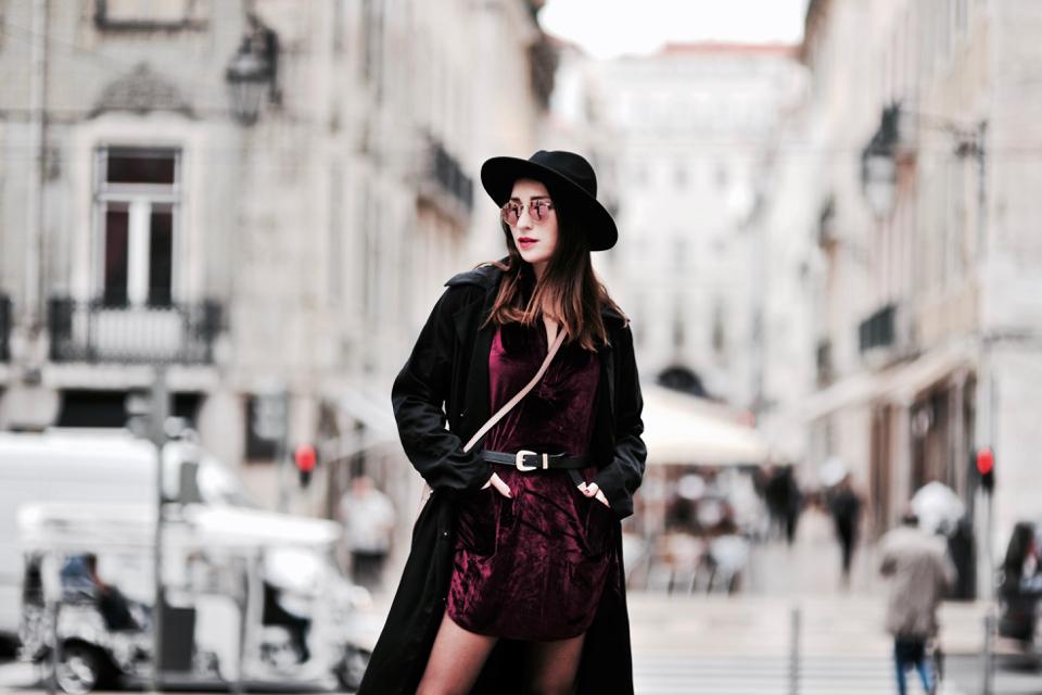 Vải nhung: Thời trang mùa lạnh 45