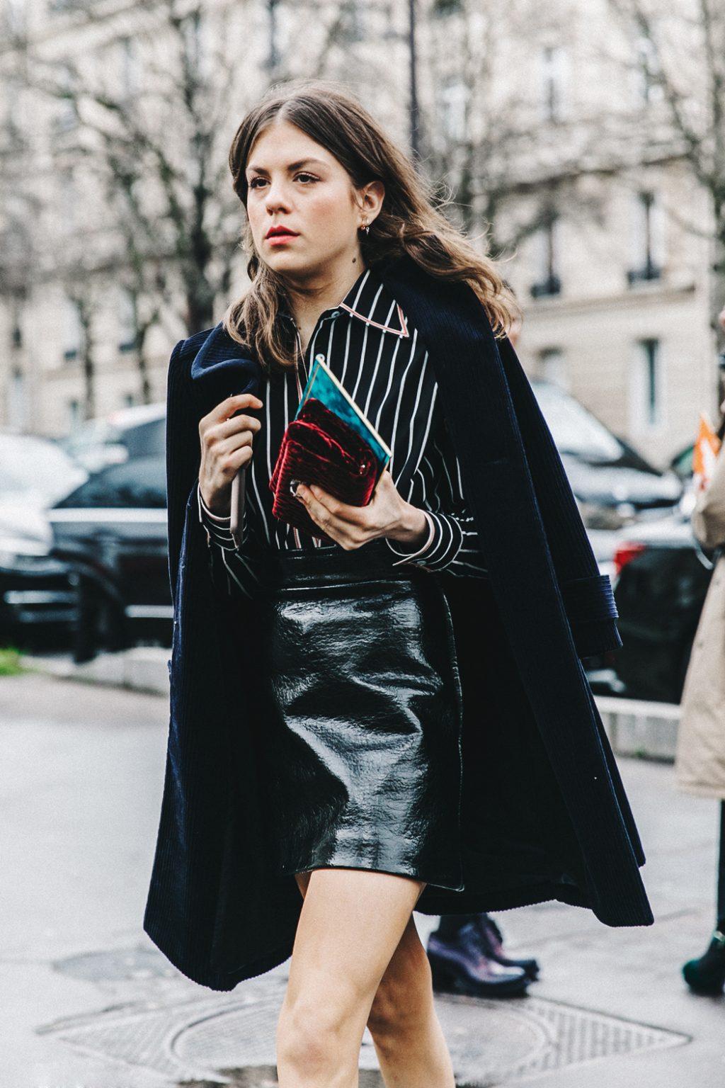 Vải nhung: áo khoác nhung 43