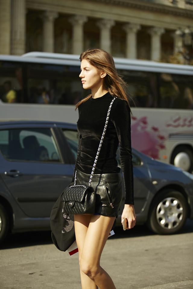 Vải nhung: Thời trang mùa lạnh 21