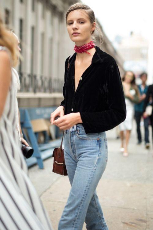 Vải nhung: Thời trang mùa thu