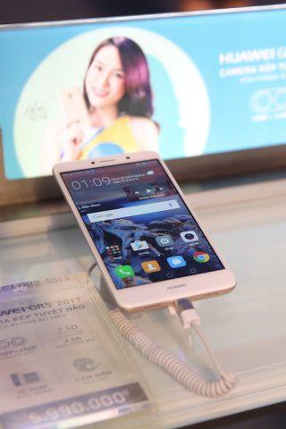 Điện thoại Huawei GR5 2017 dẫn đầu xu hướngcamera kép phân khúc tầm trung
