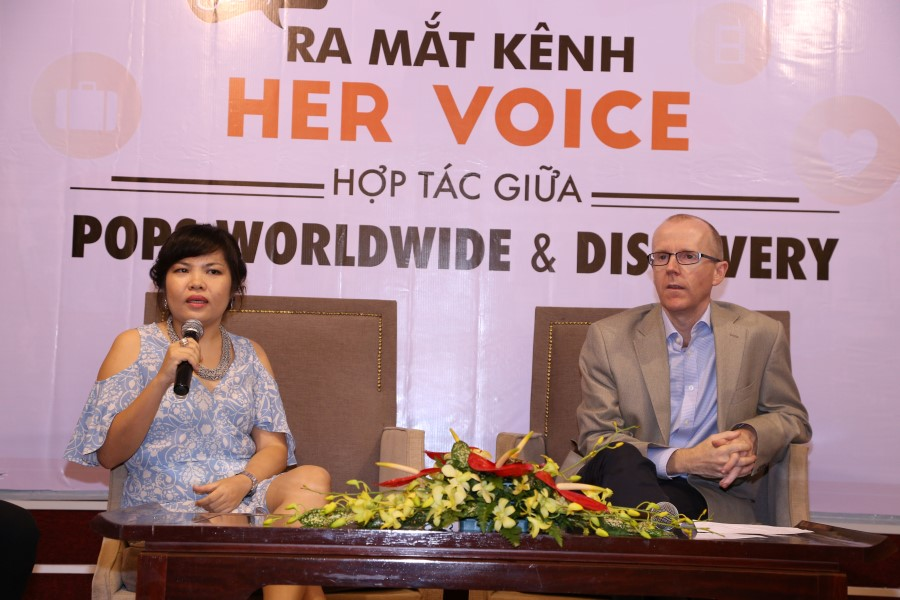 POPS World Wide hợp tác cùng Discovery ra mắt 'Her Voice' ELLE VN