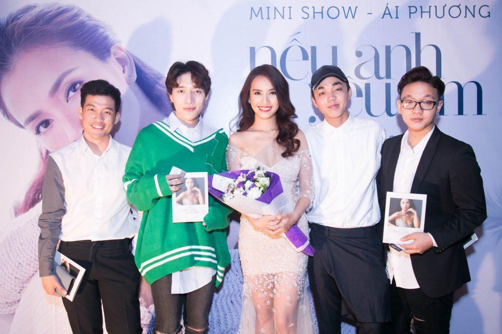 Ca sĩ Ái Phương ra mắt MV Nếu Anh Yêu Em - 05