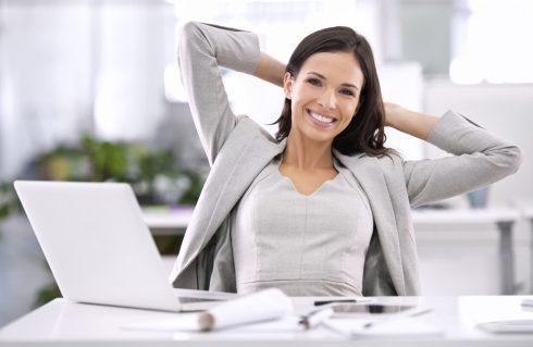 Phụ nữ thành công trong công việc
