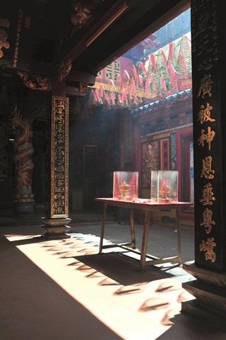 Đường cong hội quán Phước Kiến