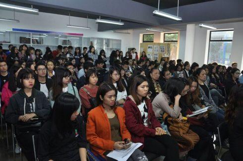 Hội thảo về ngành thiết kế thu hút sự tham dự