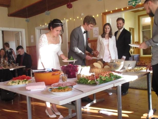 Tiệc cưới Châu Âu truyền thống - 14