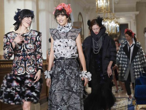 thiết kế đầm dạ tiệc trong bst prefall 2017