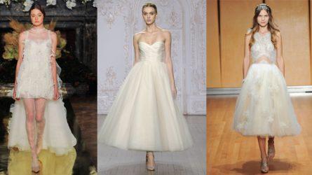 Váy cưới ngắn - Sức quyến rũ khó cưỡng