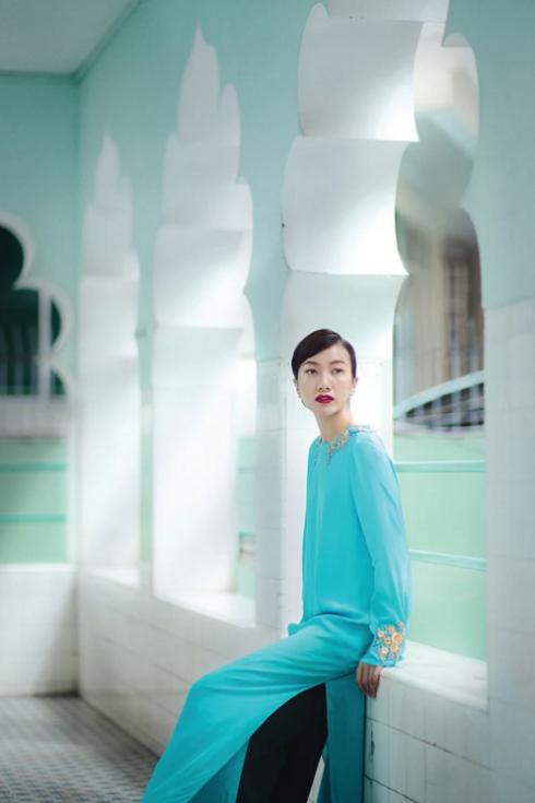 Trang phục của NTK Li Lam