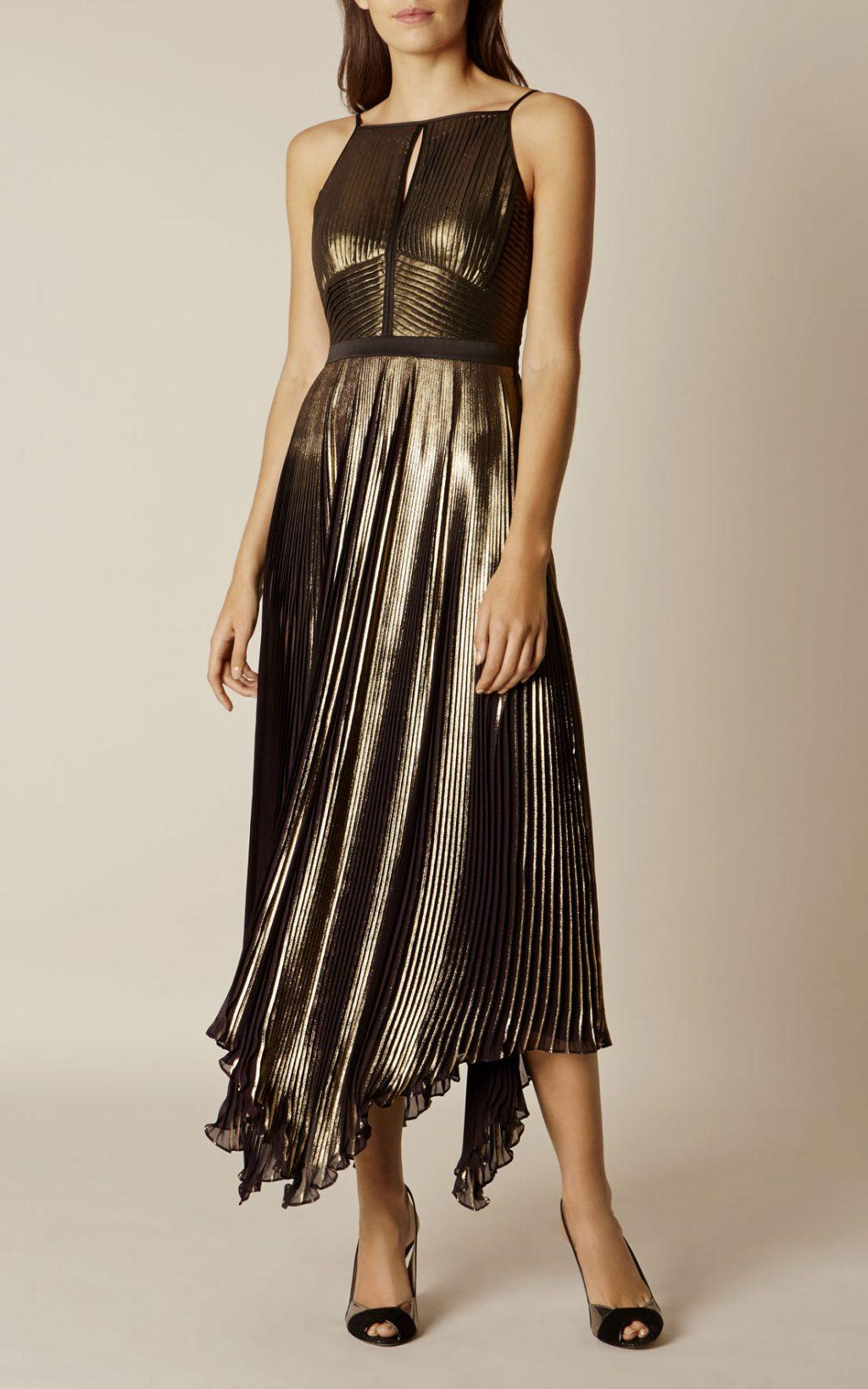 22 mẫu váy đẹp cho mùa Giáng sinh và năm mới - KAREN MILLEN