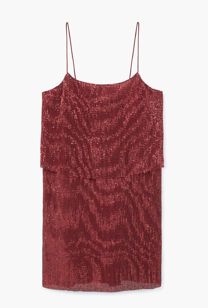 22 mẫu váy đẹp cho mùa Giáng sinh và năm mới - MANGO