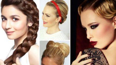 """10 kiểu tóc đẹp """"khuấy động"""" buổi tiệc cuối năm"""