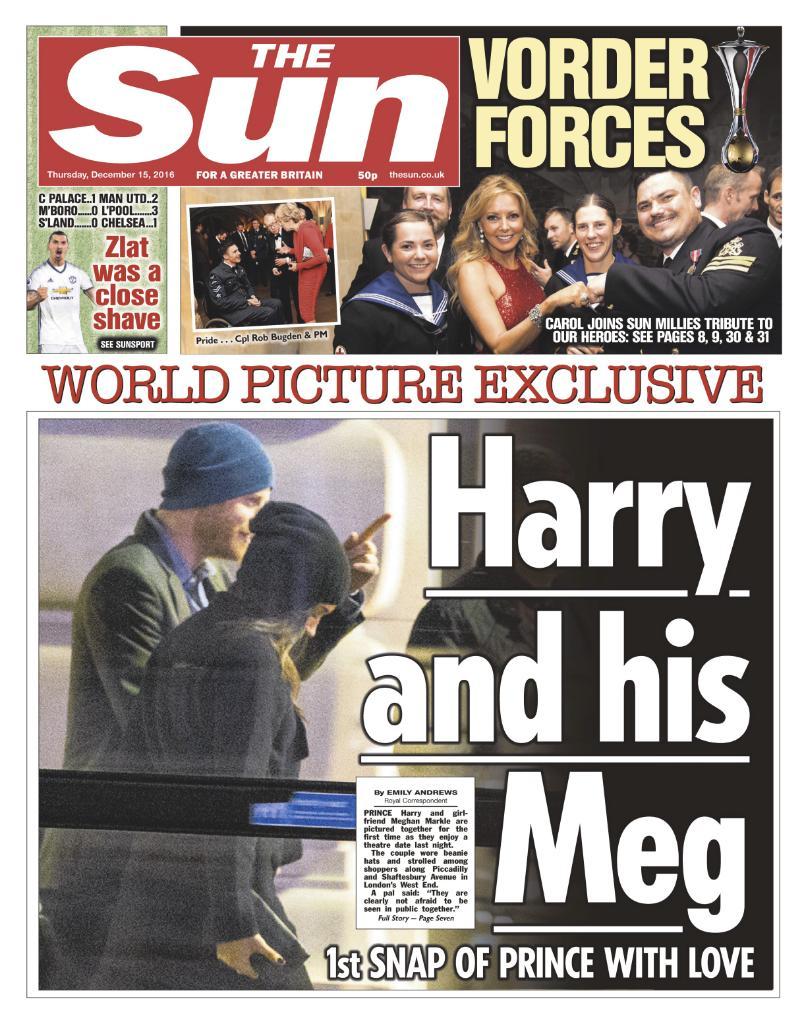 10 cột mốc tình cảm của Hoàng tử Harry và Meghan Makle