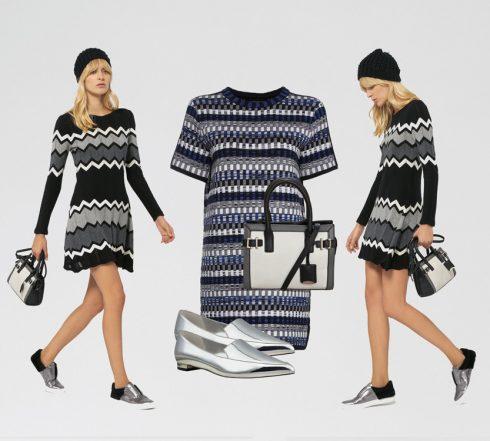 Một chiếc đầm tay dài với thiết kế thon gọn như thế này là vừa đủ ấm áp cho bạn trong những ngày chiều cuối đông.