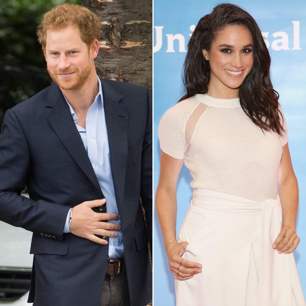 Nữ diễn viên Meghan Markle và Hoàng tử William.