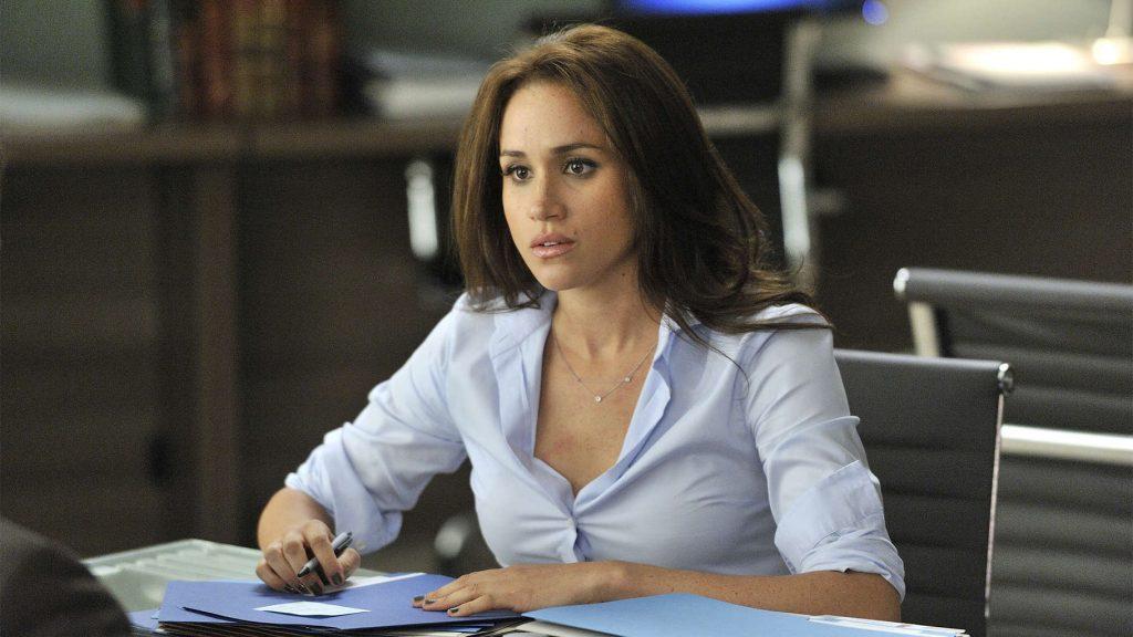 Nữ diễn viên Meghan Markle trong phim Suits.