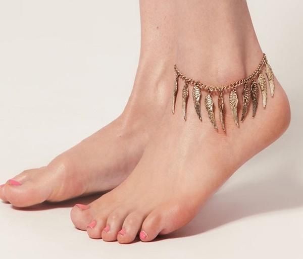 Lắc chân dây đôi elle vn