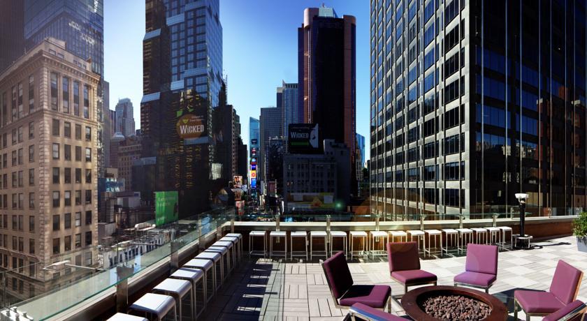 Novotel New York Times Square là một trong những điểm đến thú vị áp dụng trong chương trình.