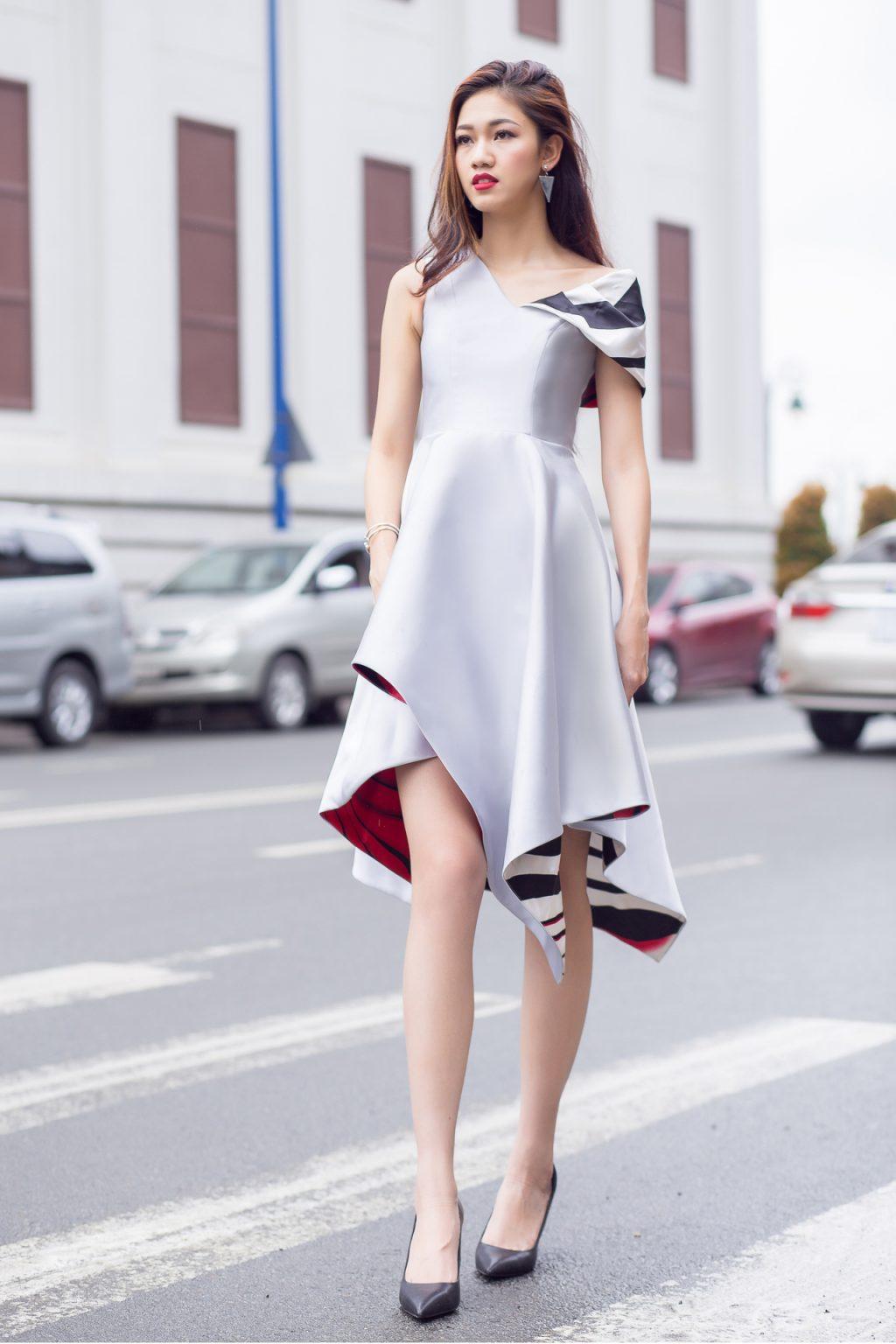 Váy của NTK Vincent Đoàn
