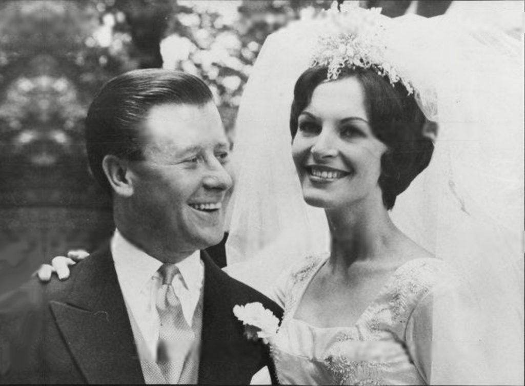 Vợ chồng nhà sáng lập cuộc thi Miss World, Eric và Julia Morley.