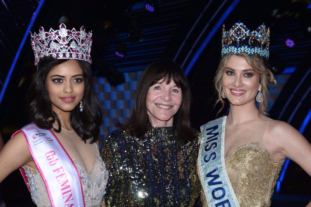 Chủ tịch của Tổ chức Hoa hậu Thế giới, Julia Morley.