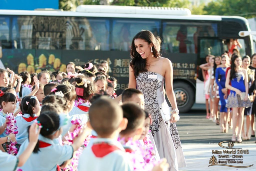 Hoa hậu Thế Giới và phần thi Beauty With A Purpose.