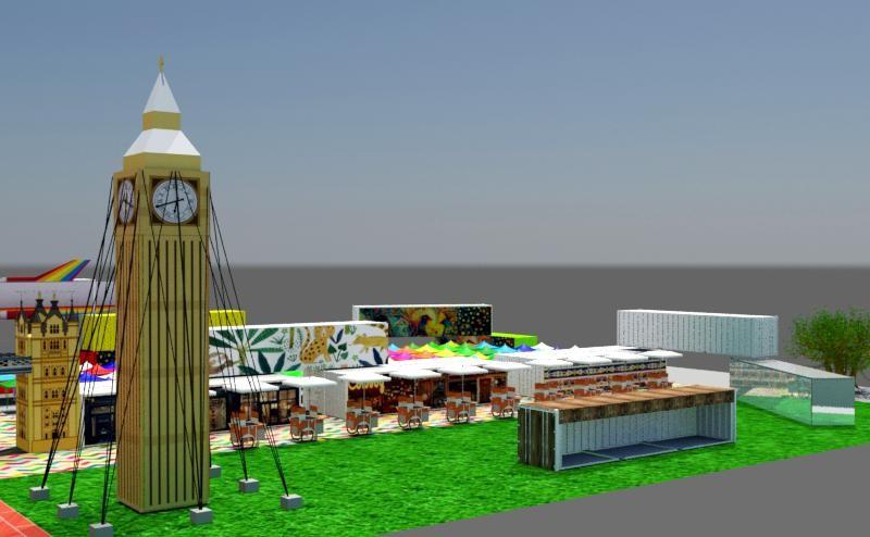 Dự án Khu giải trí ẩm thực mua sắm Rubik Zoo - 02