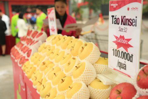 Người tieu dùng có thể tìm mua hai loại táo bổ dưỡng này tại hệ thống siêu thị Intimex và Big C trên toàn quốc.