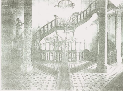 Kiến trúc 2 tầng của khách sạn cổ này được lưu giữ lại qua những bức ảnh tư liệu rất hiếm hoi.