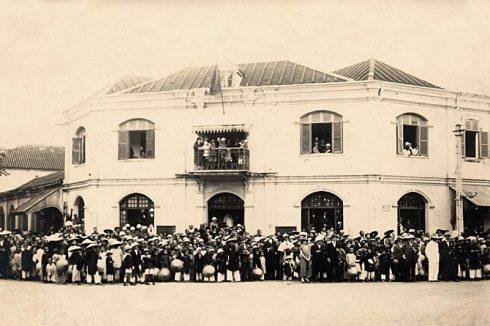 Khách sạn sở hữu nét kiến trúc Pháp cổ độc đáo tọa lạc ngay giữa trung tâm thành phố Huế.