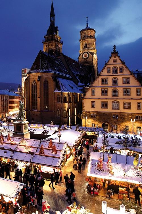 Lang thang chợ Giáng sinh miền Tây Nam nước Đức