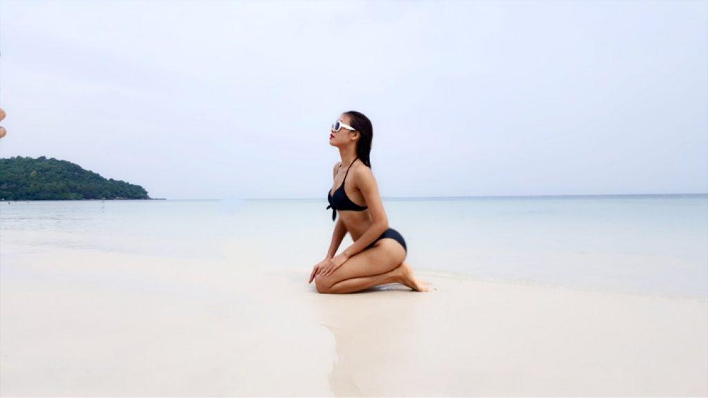 Quán quân Vietnam's Next Top Model – người quyến rũ gợi cảm, người thanh thoát tinh khôi khoe dáng trên bãi biển - 06