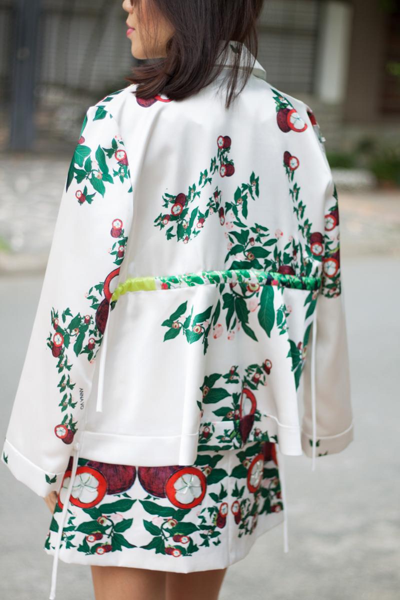 Nổi bật với trang phục họa tiết trái cây, nhà thiết kế Anna Võ ghi điểm với tín đồ thời trang - 08