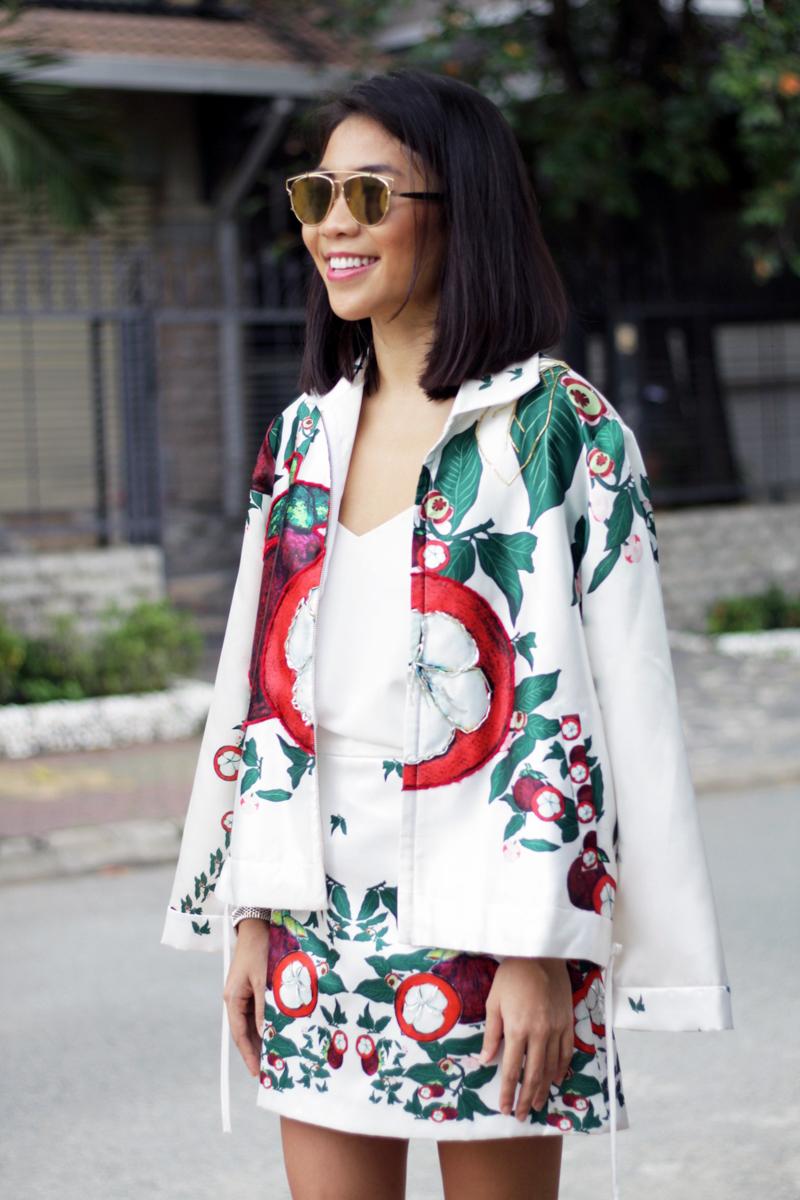 Anna Võ ghi điểm với tín đồ thời trang với ý tưởng salad trái cây
