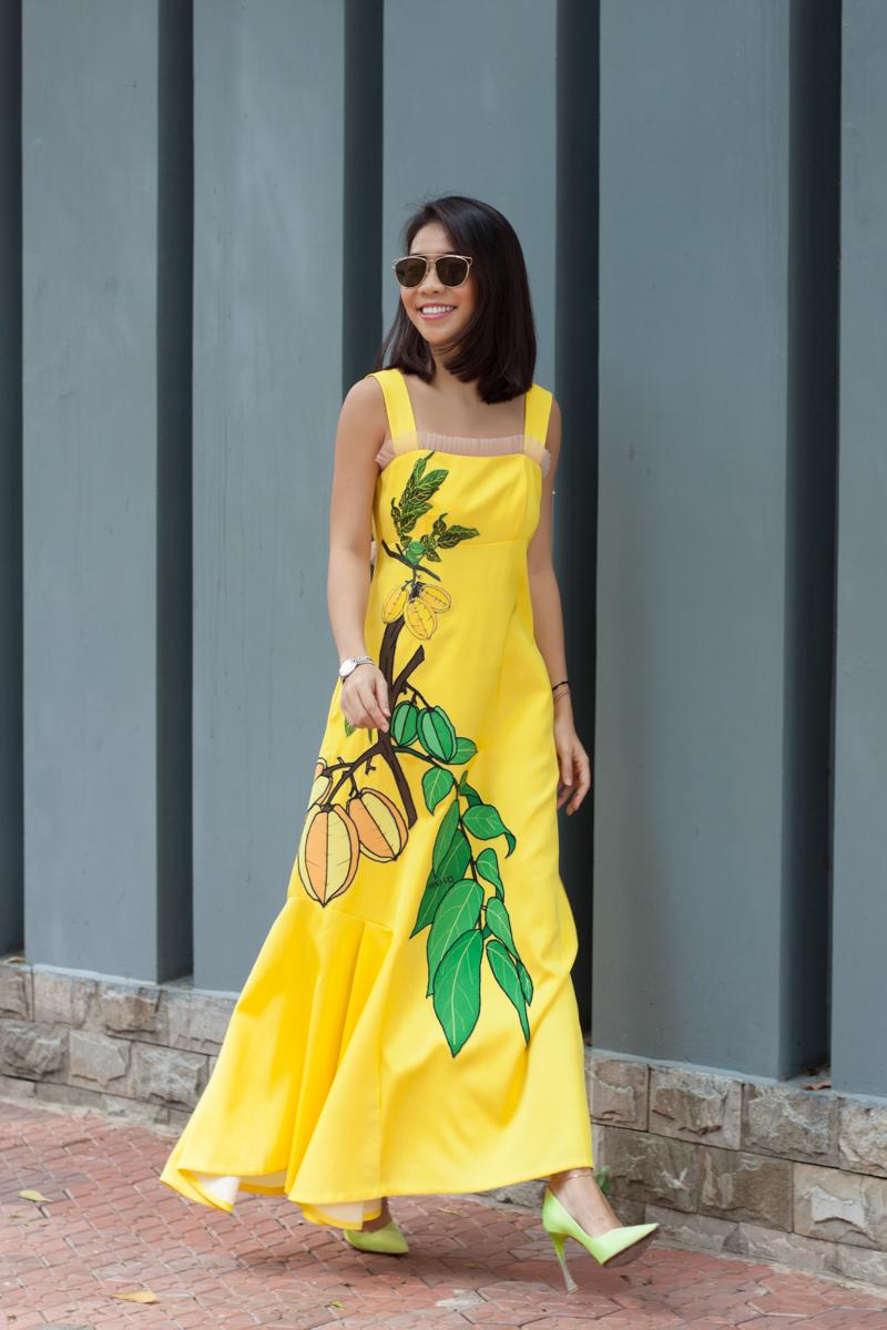 Nổi bật với trang phục họa tiết trái cây, nhà thiết kế Anna Võ ghi điểm với tín đồ thời trang - 11