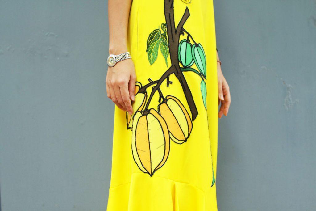Nổi bật với trang phục họa tiết trái cây, nhà thiết kế Anna Võ ghi điểm với tí n đồ thời trang- 12