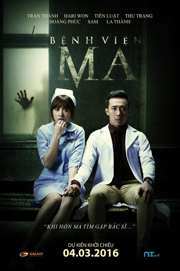 Phim Bệnh Viện Ma của Hari Won và Trấn Thành.