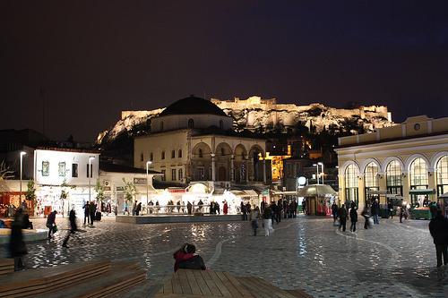 Athens về đêm, một góc nhìn rất khác -04