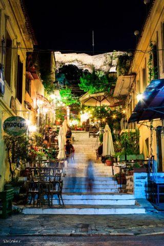 Du lịch Hy Lạp, trải nghiệm một đêm rất khác ở Athens