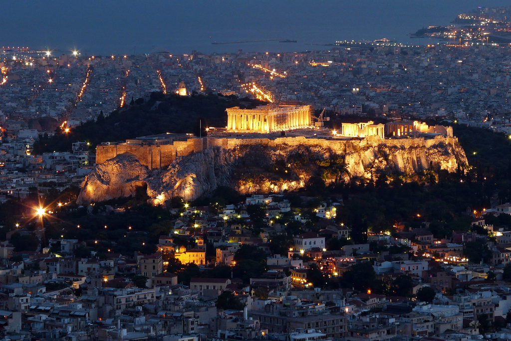 Athens về đêm, một góc nhìn rất khác - 08