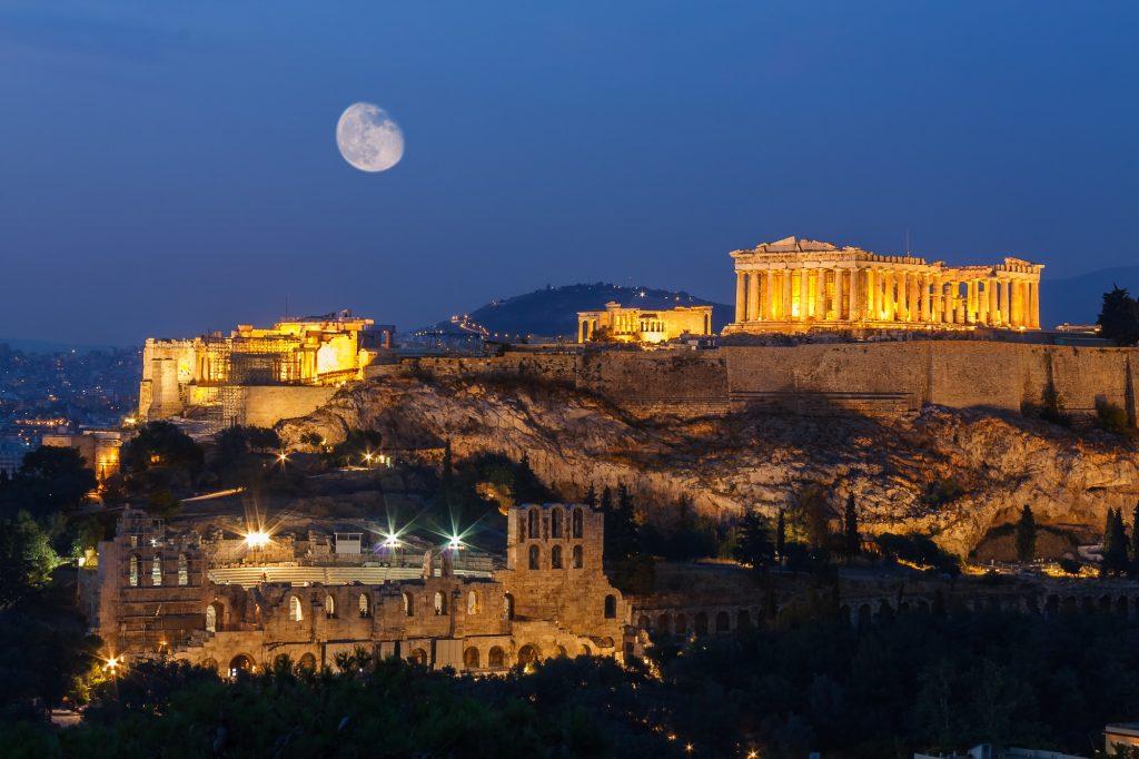 Athens về đêm, một góc nhìn rất khác - 09