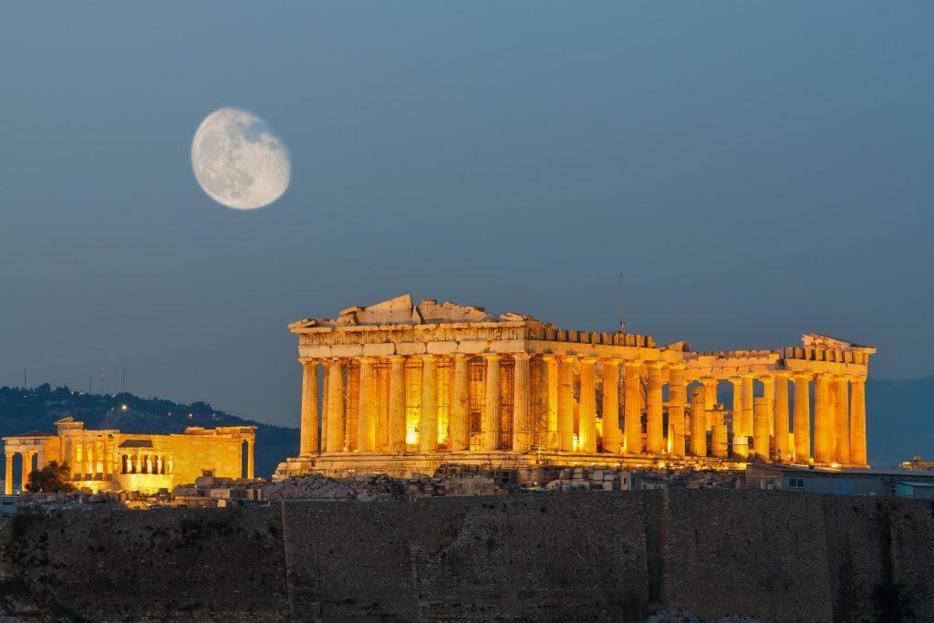 Athens về đêm, một góc nhìn rất khác - 15