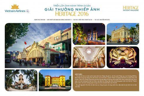 Những nét kiến trúc Pháp tại Hà Nội được ghi lại bằng bộ ảnh của tác giả