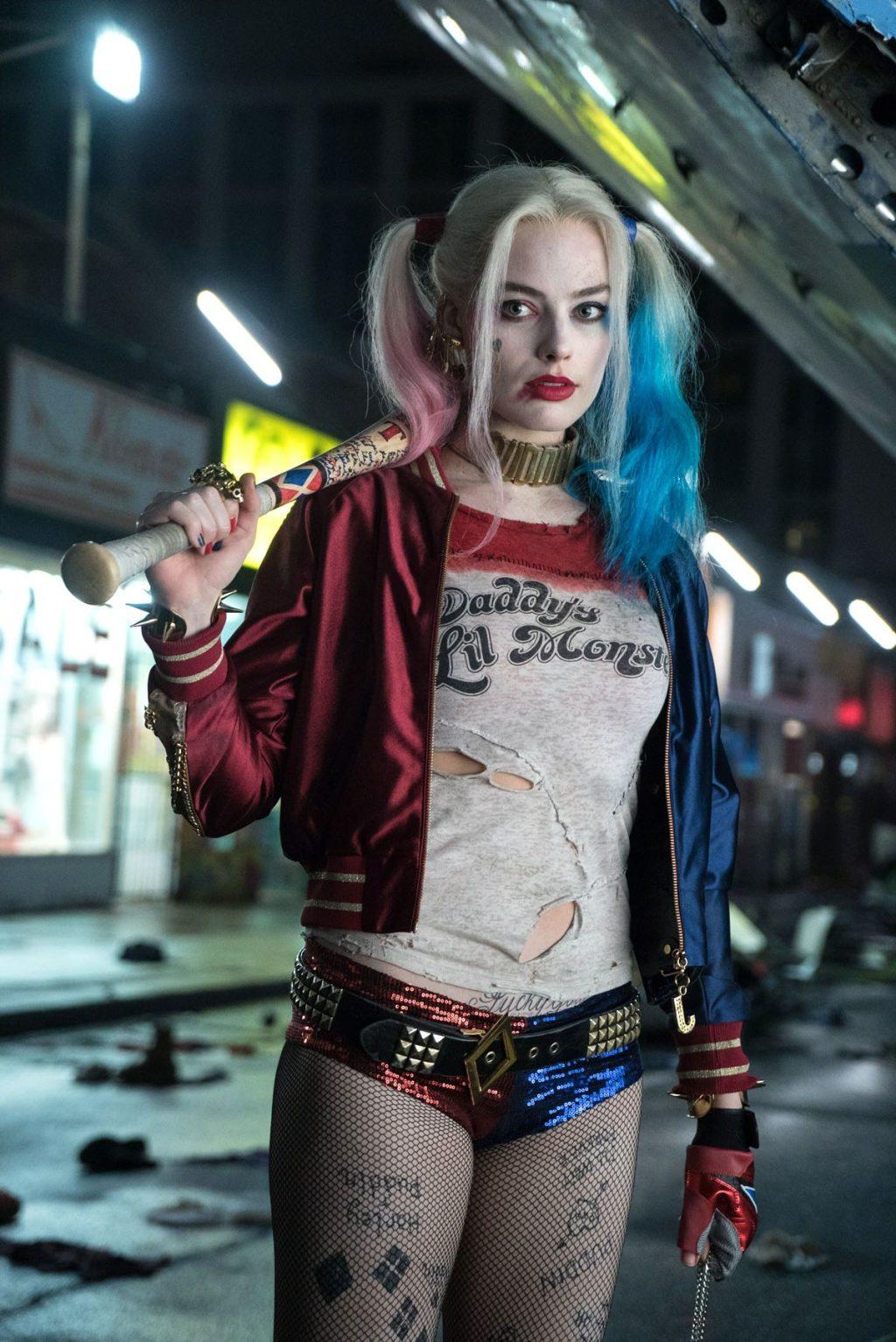 Nữ diễn viên Margot Robbie trong Suicide Squad.