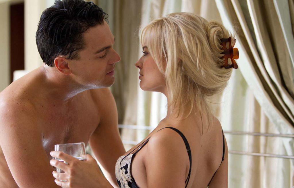 Nữ diễn viên Margot Robbie trong The Wolf of Wall Street.